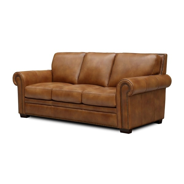 Toulouse Top Grain Leather Sofa. Opens flyout.