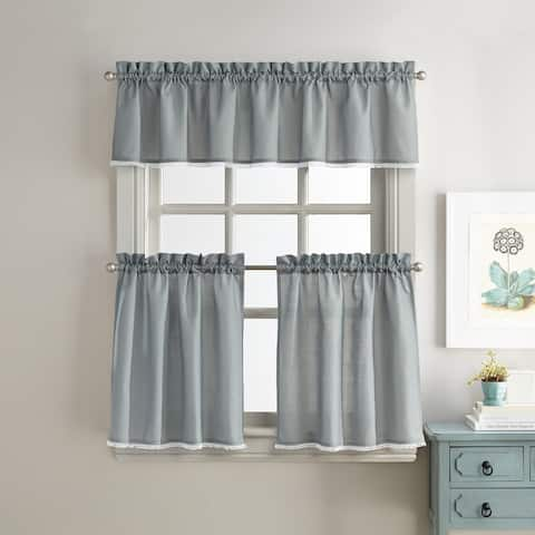 Chloe Valance and Tier Pair Curtain Collection