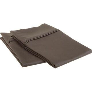 Superior Egyptian Cotton 1200 Thread Count Solid Pillowcase Set (Set of 2)