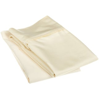 Superior Egyptian Cotton 1200 Thread Count Solid Pillowcase Set (Set of 2) (2 options available)