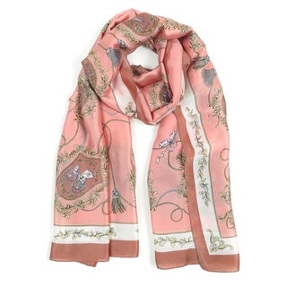 Women Scarf Pashmina Shawl Wrap Light Soft Neck Scarf Vintage Scarves