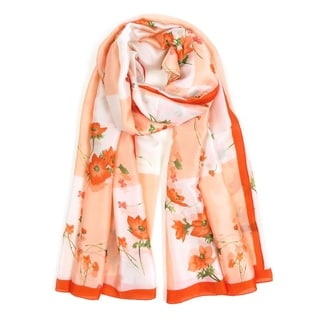 Link to Women Silk Scarf Floral Printed Scarves Lightweight Soft Neck Shawl Wraps Similar Items in Scarves & Wraps