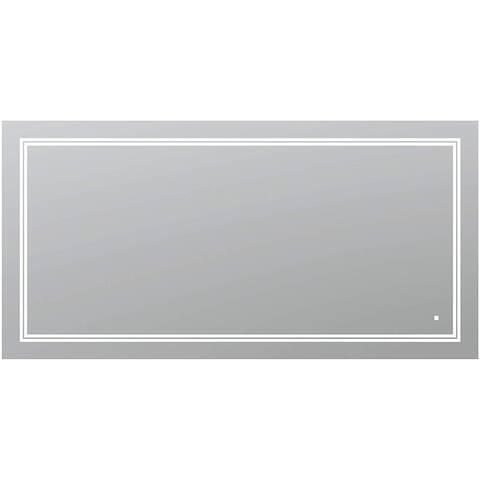 """AQUADOM SOHO, 72""""x36""""x1"""" Ultra-Slim Frame LED Mirror"""