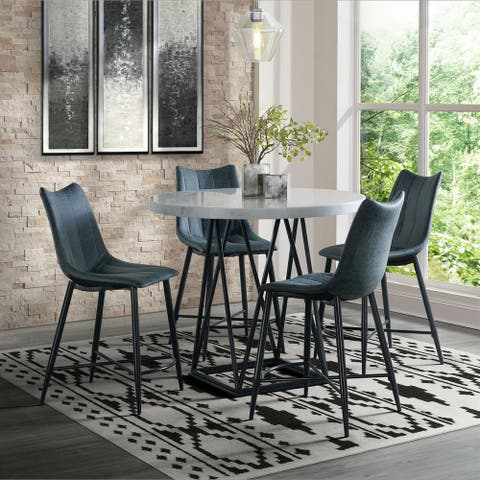 Picket House Furnishings Conner 5PC Counter Height Dining Set