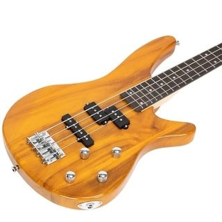 Link to Bass Guitar Exquisite Stylish IB Bass with Power Line and Wrench Tool Similar Items in Guitars & Amplifiers