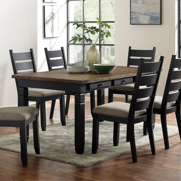 shop furniture of america falm transitional brown solid