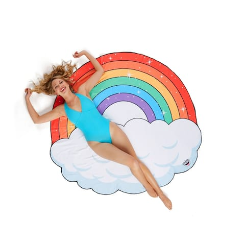 BigMouth Inc. Giant Rainbow Beach Blanket