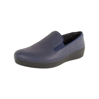 Fitflop Womens 'Superskate' Snake Print Loafers