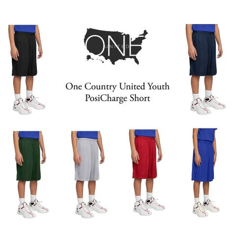 One Country United Youth PosiCharge Short