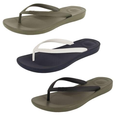Fitflop Mens 'iQushion Ergonomic Flip Flop' Shoes