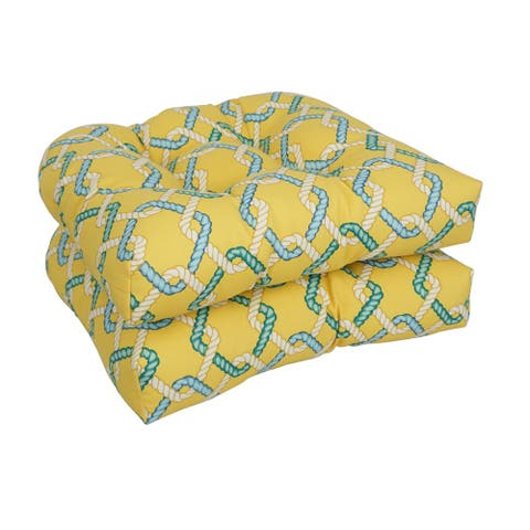 19-inch U-Shaped Dining Chair Cushions (Set of 2)