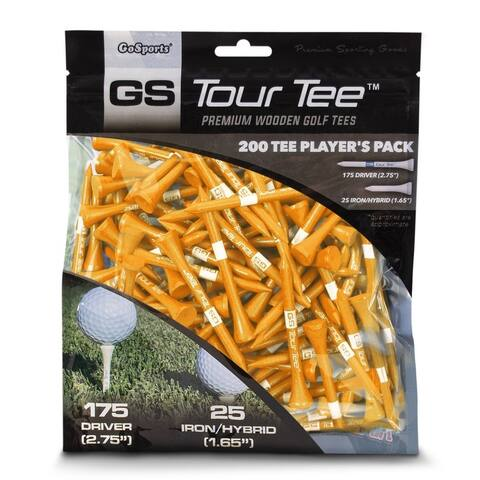 "GoSports 2.75"" Tour Tee Premium Wooden Golf Tees"