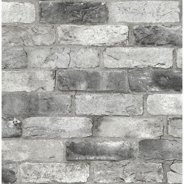 Goleta Grey London Brick Peel Stick Wallpaper 0f7e8b67 0a7c 444f 8cb8 cb26b3028d8f 600