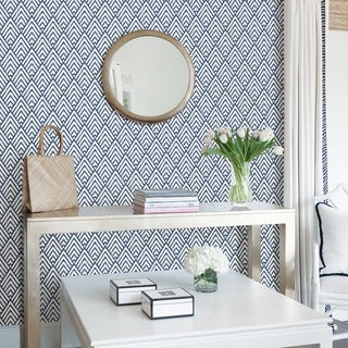 Link to Dixon, Arrowhead Deep Blue Peel & Stick Wallpaper Similar Items in Wall Coverings