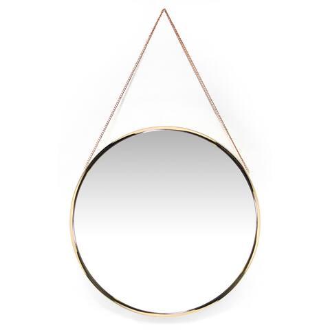 Carson Carrington Kabbo Gold Mirror