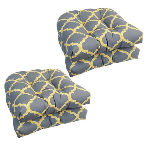 19-inch U-Shaped Dining Chair Cushions (Set of 4)