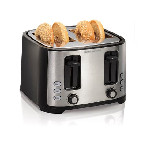 Hamilton Beach Extra-Wide Slot 4 Slice Toaster