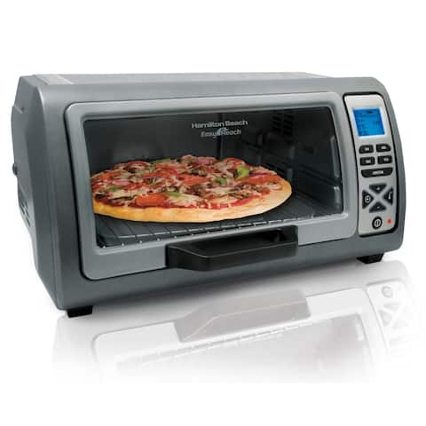 Hamilton Beach Easy Reach Digital Convection Oven with Roll-Top Door