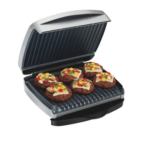 Proctor Silex 6 Serving Removable Plate Indoor Grill