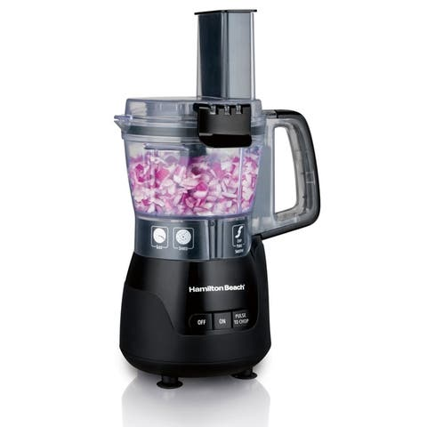 Hamilton Beach Stack & Snap 4 Cup Compact Food Processor
