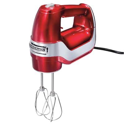 Hamilton Beach Professional 5 Speed Hand Mixer Red