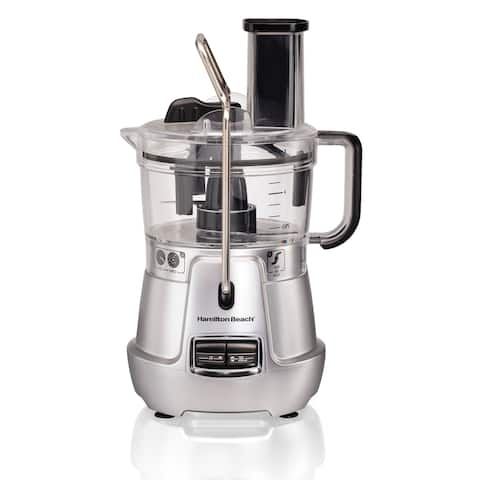 Hamilton Beach Stack & Snap Food Processor 8-Cup with Built-in Bowl Scraper