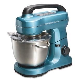 Link to Hamilton Beach 4 Qt. 7-Speed Tilt Head Stand Mixer Blue Similar Items in Kitchen Appliances
