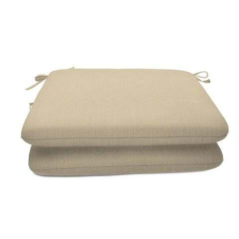 """18 x 18 Sunbrella Seat Pad 2 Pack - 18""""W x 18""""D x 2.5""""H"""