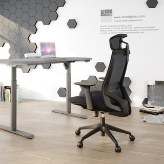 Ergonomic Office Mesh Task Chair with Adjustable Headrest