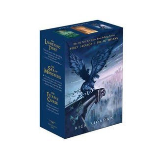 Percy Jackson & the Olympians: Lightning Thief / The Sea of Monsters / The Titan's Curse (Paperback)