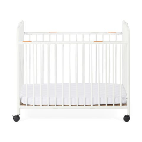 Child Craft Little Dreamer Metal Folding Compact Crib