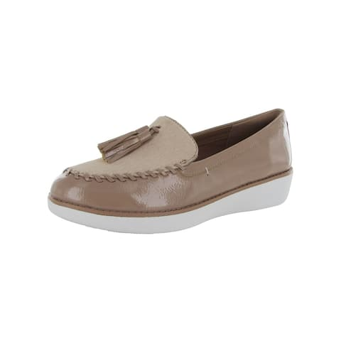 Fitflop Womens 'Paige Faux Pony Moccasin' Loafers