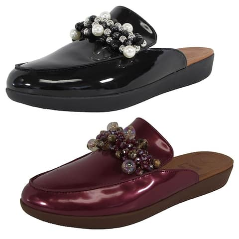 Fitflop Womens 'Serene Deco' Beaded Mules