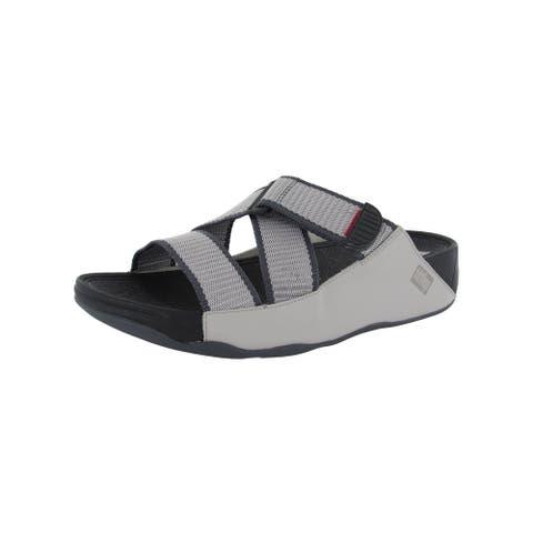 Fitflop Mens 'Sling II Webbing Slide' Sandals