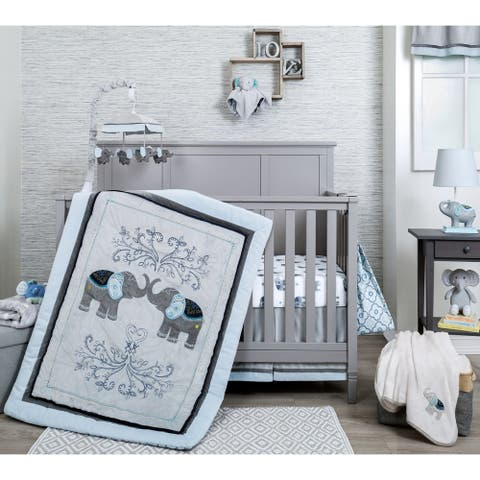 Nurture Elephant Celebration 3 Piece Baby Bedding Set