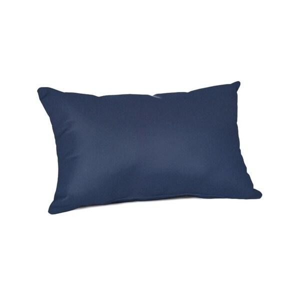 """20"""" x 13"""" Sunbrella Pillow - 20""""W x 13""""H. Opens flyout."""