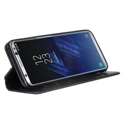 Cellphone Wallet Case with Selfstand for Samsung Galaxy S8 Plus
