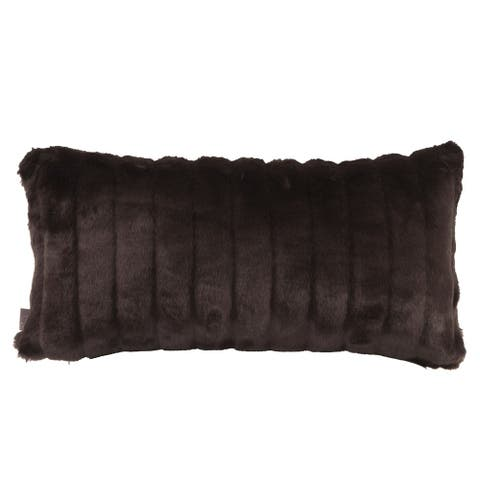 Faux Mink Pillow Cover 11 x 22