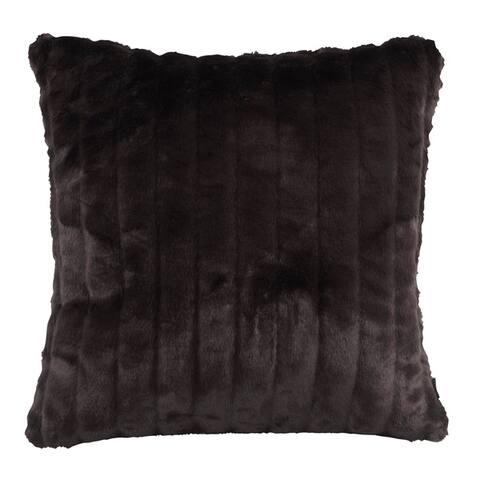 Faux Mink Pillow Cover 20 x 20