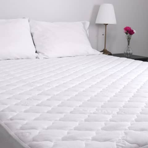 Arkwright MaxCool Mattress Pad - Hypoallergenic, Noiseless, Soft
