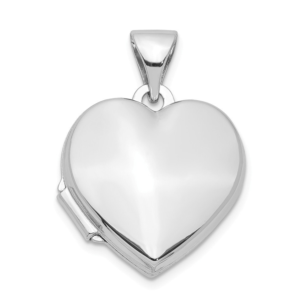 925 Sterling Silver Polished /& Textured Cut-Out Heart Butterfly Charm Pendant