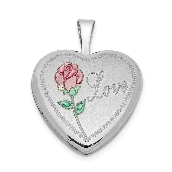 925 Sterling Silver Large Polished Number 20 Charm and Pendant