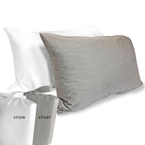 eco-melange Rayon Bamboo Cotton Pillowcase Set