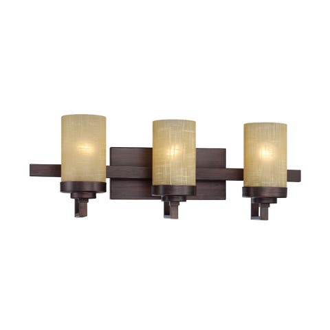Castello 3 Light Bath Bar