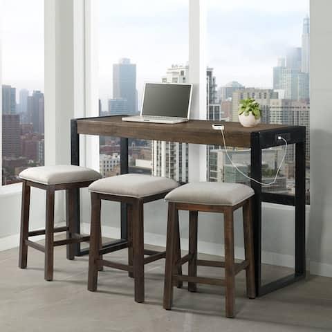 Picket House Furnishings Enrico Multipurpose Bar Table Set
