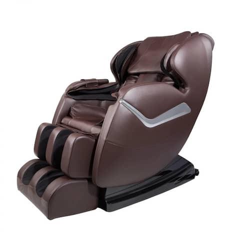 Electric Massage Chair Shiatsu Zero Gravity Full Body with 8 Massage Points 3D Recliner