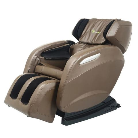 Full Body Massage Chair Electric Zero Gravity, Foot Roller, Shiatsu Recliner with Heat and Audio
