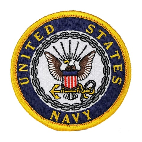 US Navy Logo Military Embroidered Patch