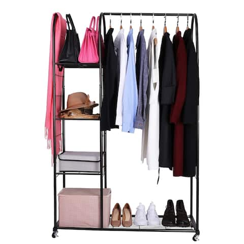 Mythinglogic Garment Rack with Wheels