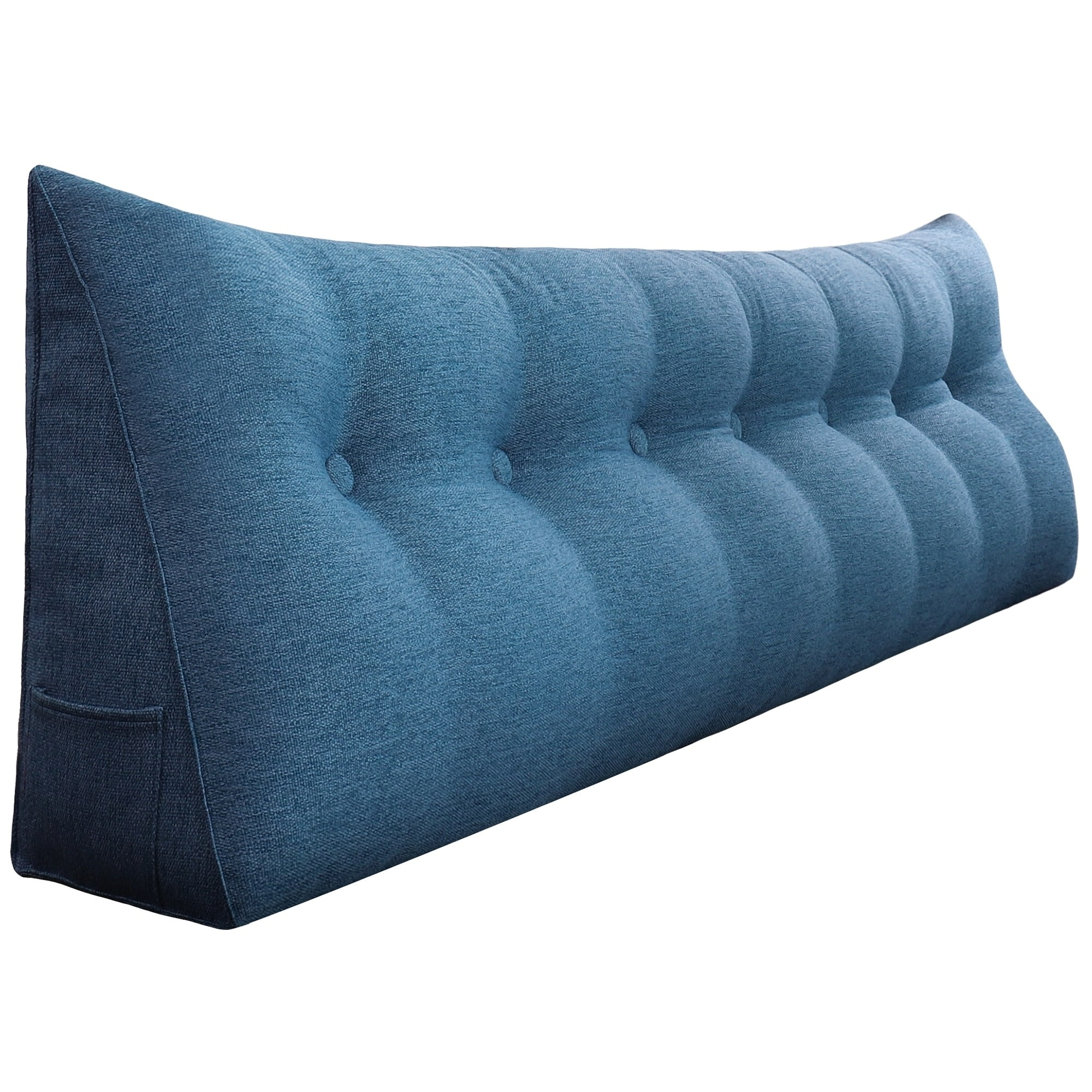 Picture of: Shop Wowmax Bed Rest Wedge Pillow Oversized Extra Long Back Lumbar Pillow Overstock 30994608